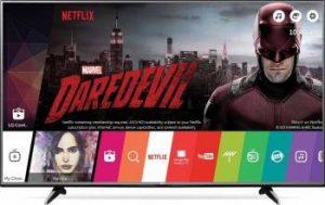 Televizor LED 109 cm LG 43UH603V UHD 4K Smart TV